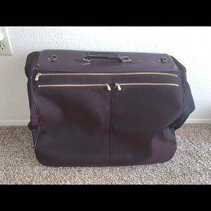 Authentic Louis Vuitton taiga canvas garment bag